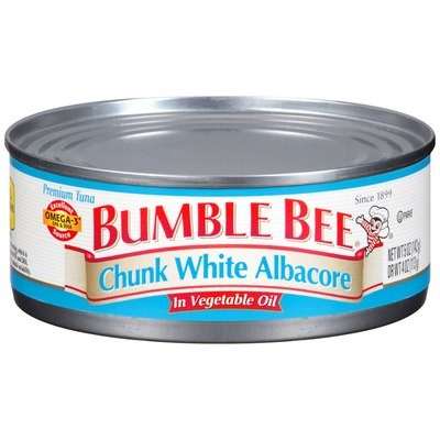 Bumble Bee Chunk White Tuna Albacore In Oil, 5 oz