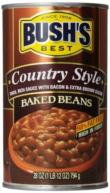 Bushs Best Baked Beans - Country Style (28 oz ea)