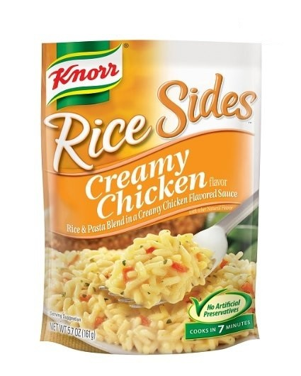 Knorr Rice Sides Creamy Chicken, 4.5 oz