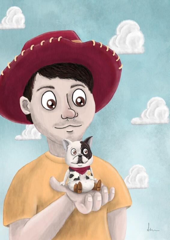 Ilustración Personalizada en lámina