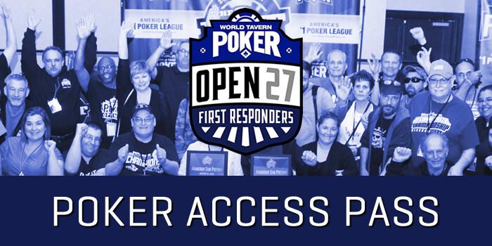 OPEN 27 Poker Only Access Pass