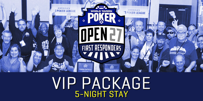 OPEN 27 VIP Package (5-night stay)