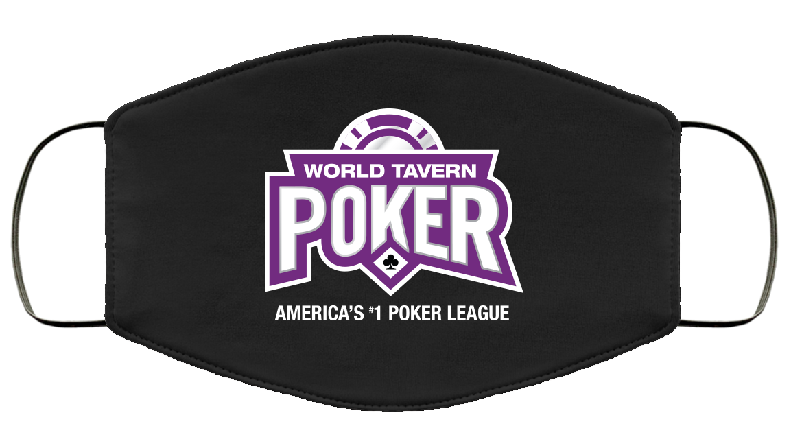 World Tavern Poker Face Masks
