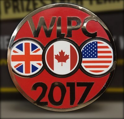 WLPC 2017 Medallion