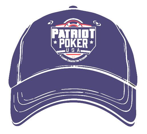 Patriot Poker Hat