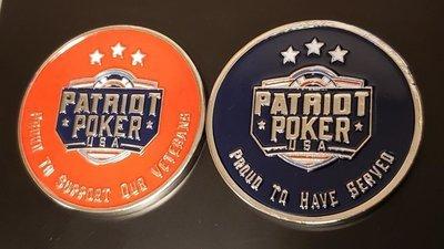 Patriot Poker Medallions