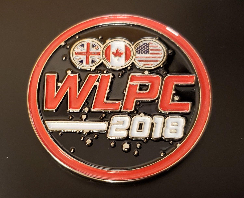 WLPC 2018 Medallion