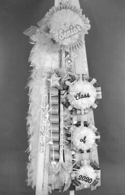 CASCADING SENIOR Deluxe Homecoming Mum - Custom