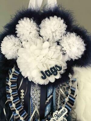 Paw Print deluxe Homecoming Mum - Custom