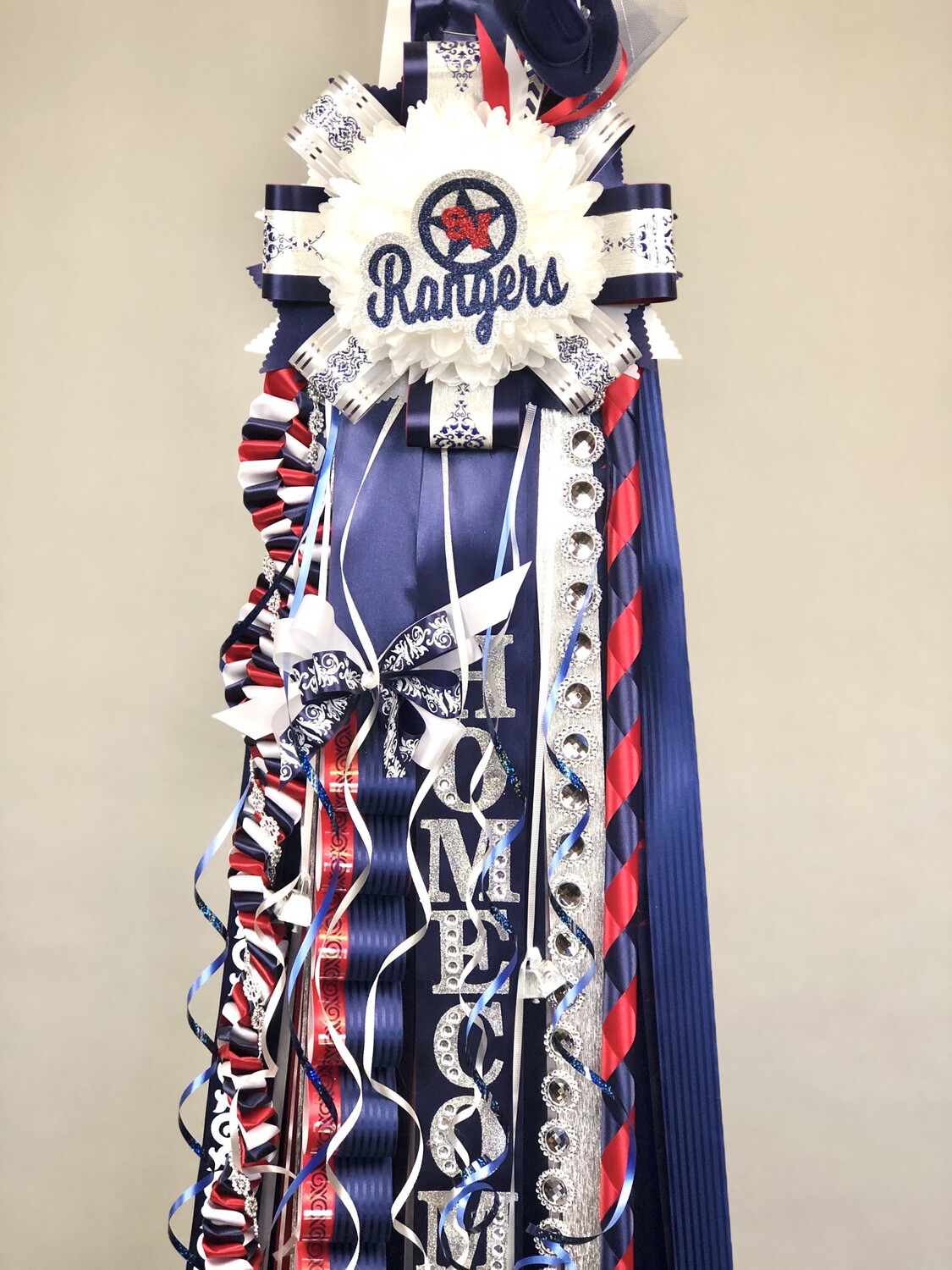 Smithson Valley HS Deluxe Homecoming Mum- READY MADE