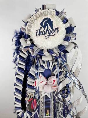 Champion HS Chargers GOLF Supreme Homecoming Mum- Ready made
