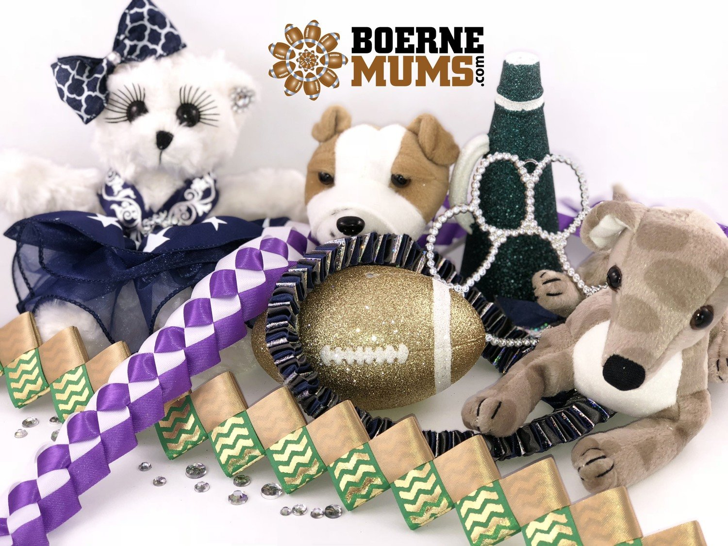 ADD-ONs & UPGRADES for Homecoming mums & garters