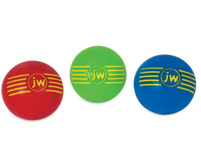 JW Pet Company : Toys : I-Squeak Medium Ball