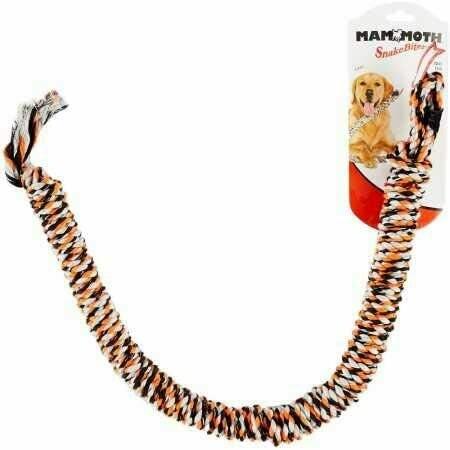 "Mammoth : Toy : SnakeBiter 34"" Rope Tug"