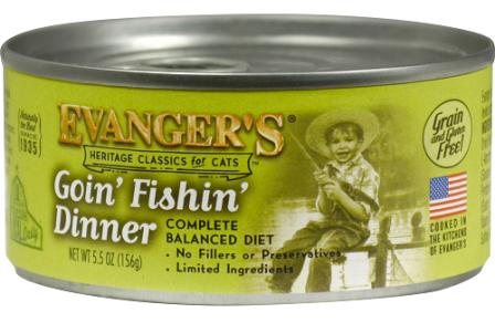 Evanger's : Classic : Goin' Fishin' Dinner 5.5oz