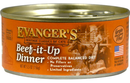 Evanger's : Classic : Beef It Up Dinner 5.5oz