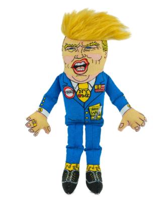 Fuzzu : Toy : Donald Trump Dog Toy Classic 8
