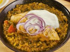 21. Chicken Dhansak