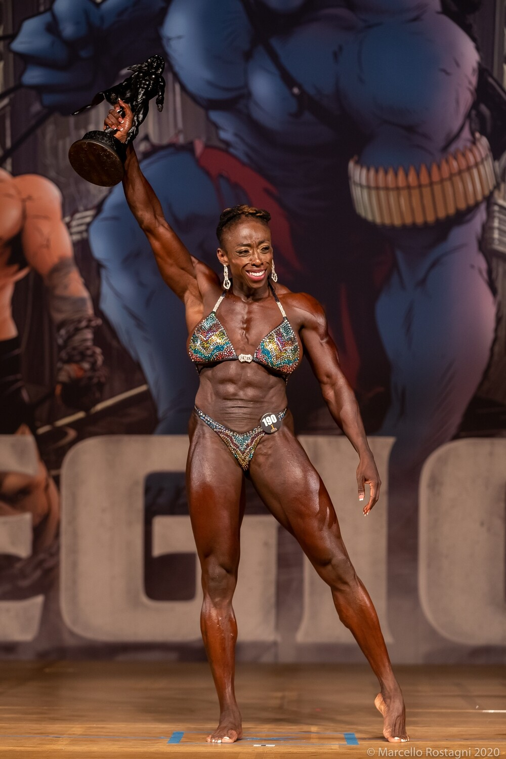 IFBB Masters Women's Physique