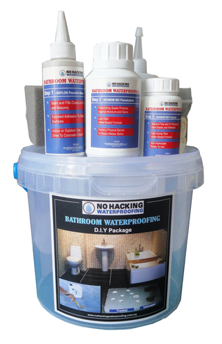 No Hacking Waterproofing DIY Set - M (Upgraded to 120sqft) DIY500ML