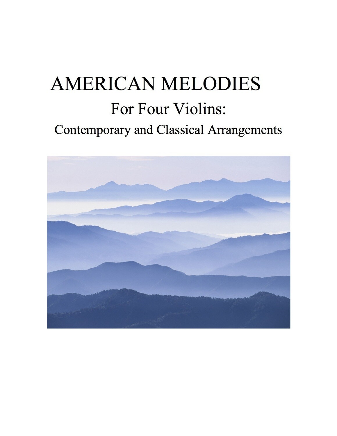 064 -  American Melodies For Four Violins and Cell Phone Symphony