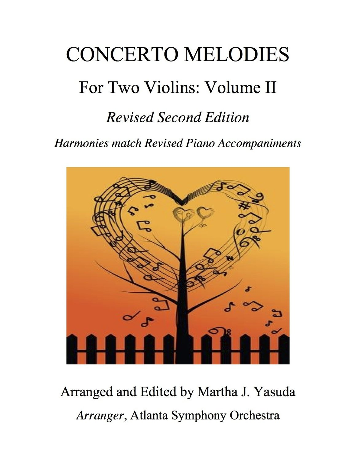 004 - Concerto Melodies For Two Violins, Volume II (Seitz #5, Bach Double & Bach a minor)