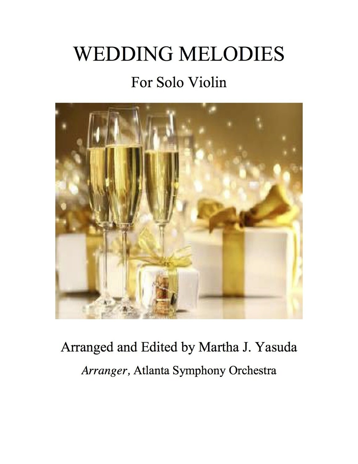 052 - Wedding Melodies For Solo Violin