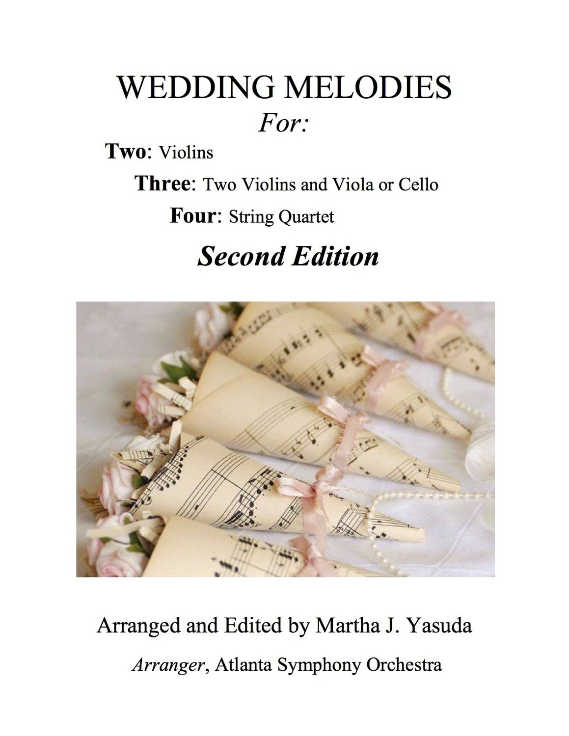 055 - Wedding Melodies For Two, Three or Four (Second Edition)