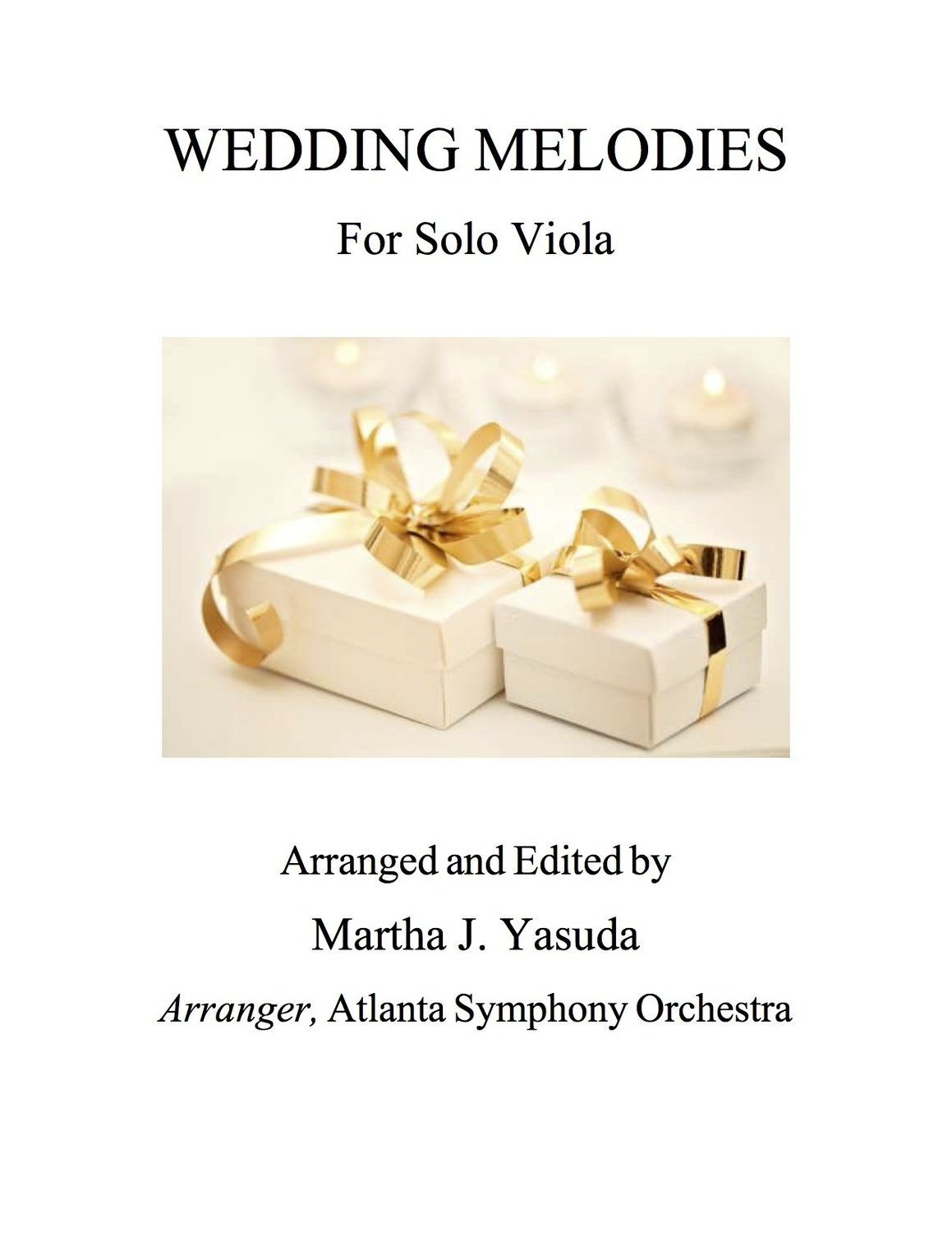 056 - Wedding Melodies for Solo Viola - Double Stops
