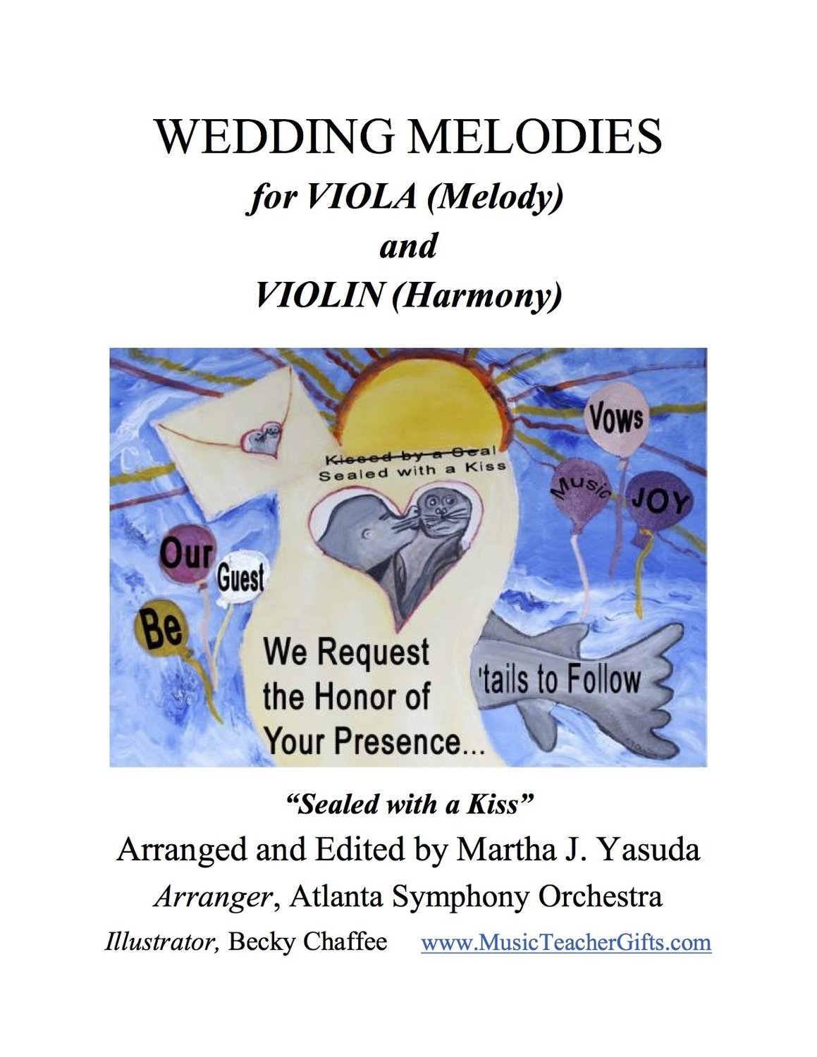 058 - Wedding Melodies for Viola (Melody) and Violin (Harmony)