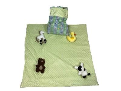 Nursery Playtime Boy Activity Blanket