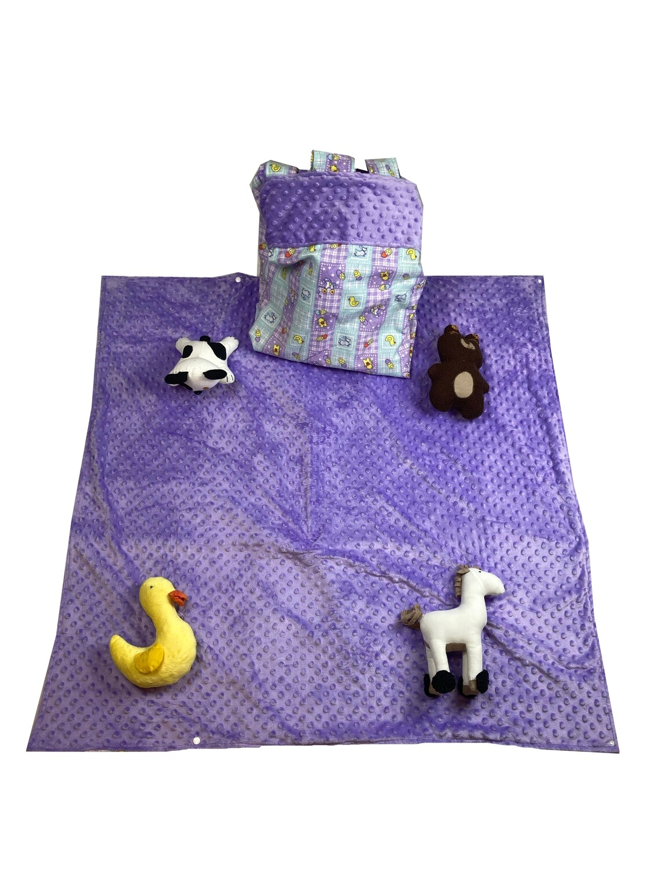 Nursery Playtime Girl Activity Blanket