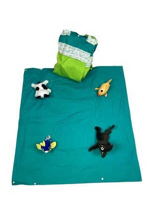 A City Life For A Pet Activity Blanket