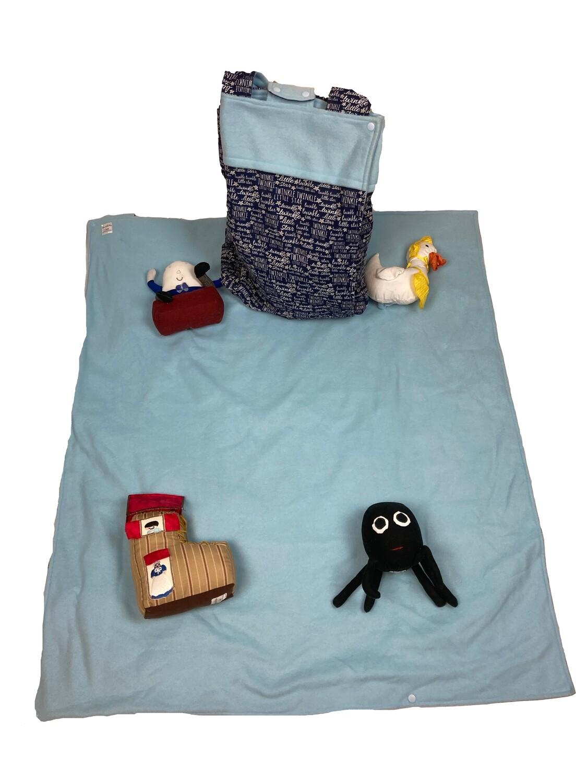 Nursery Rhyme Boy Activity Blanket