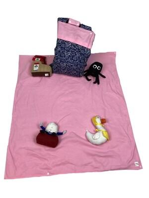 Nursery Rhyme Girls Activity Blanket