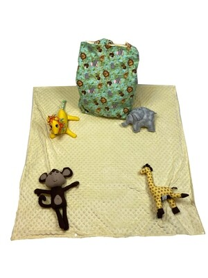It's a Zoo Out There Activity Blanket