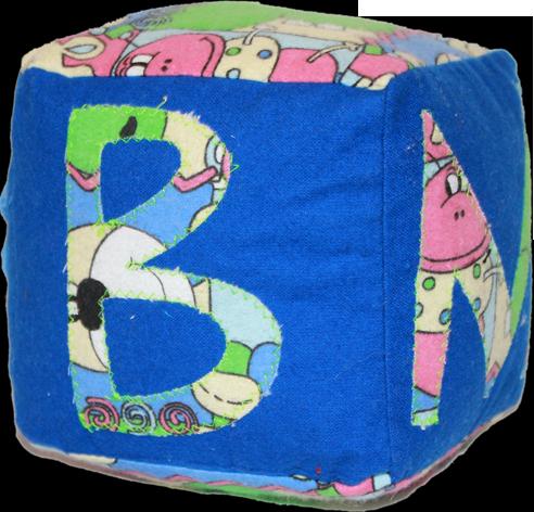 Blue Plush Blocks (Boy)