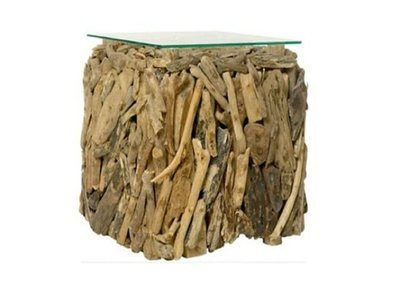 Woody side-table