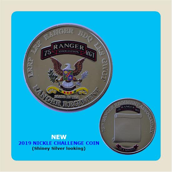 2019 Nickel Challenge Coin