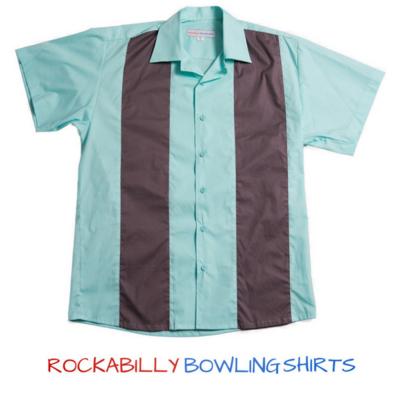 50s Retro Bowling Shirt Dale