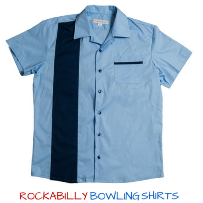 Retro 50s Bowling Shirt Alan