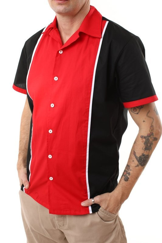 50s Retro Shirt Johnny (Black)