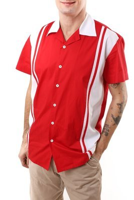 Retro Shirt Charlie (Red)
