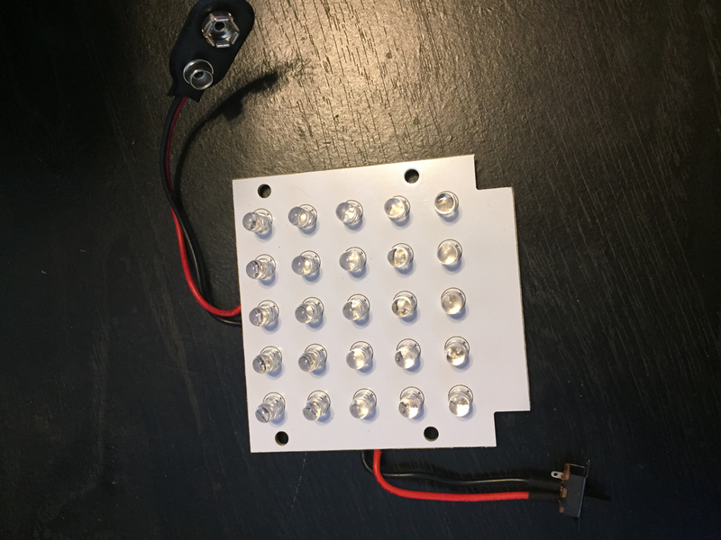 25 LED Infrared board