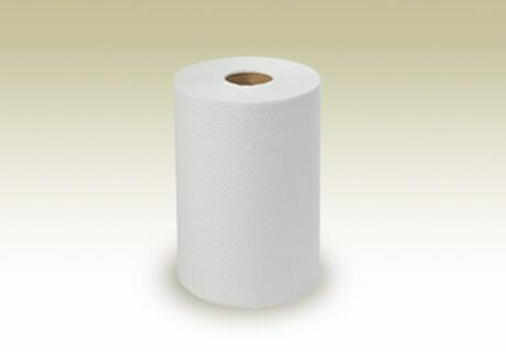 Golden Gate Recycled White Roll Towel 600ft
