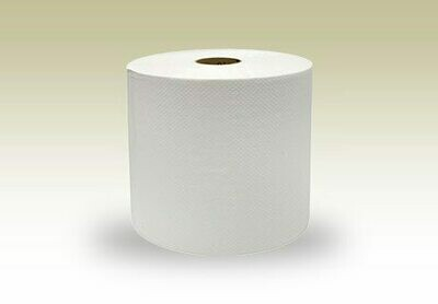 Truly Green Recycled White Roll Towel 800ft