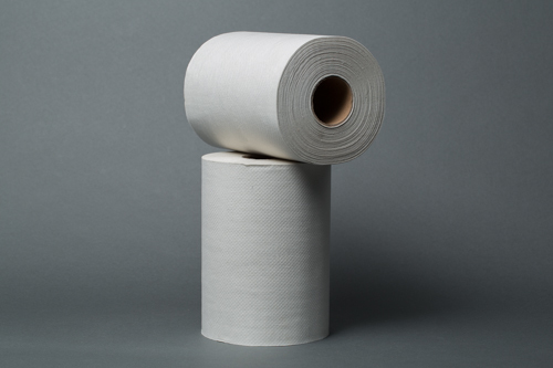 Royalty Recycled White Roll Towel 350ft