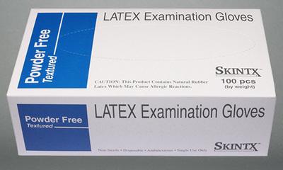 Latex Exam Gloves Powder Free
