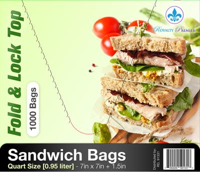Fold Top Sandwich Bags