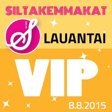 VIP-lippu LA 8.8.2015